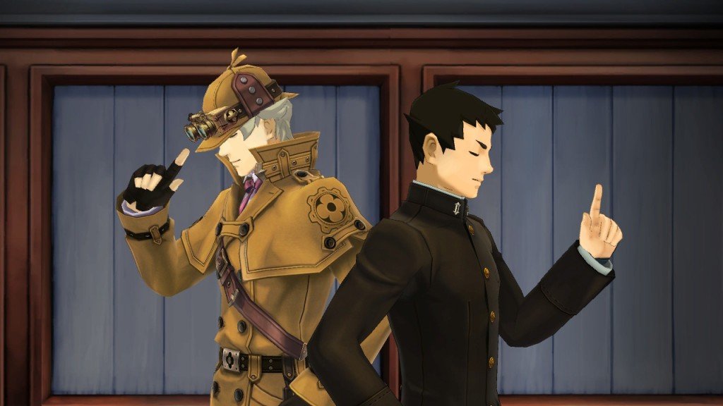 The Great Ace Attorney screenshot