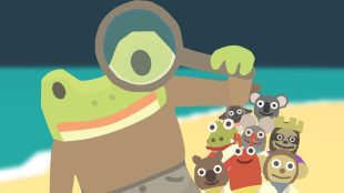 Frog Detective and friends