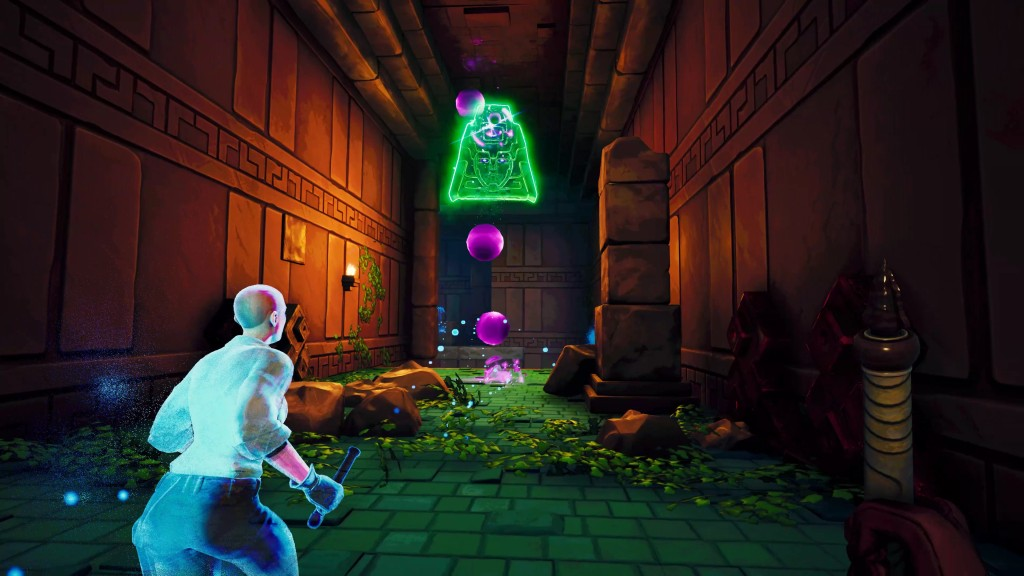 Screenshot from Phantom Abyss by Team WIBY, published by Devolver Digital