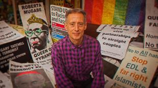 Publicity Still from Hating Peter Tatchell