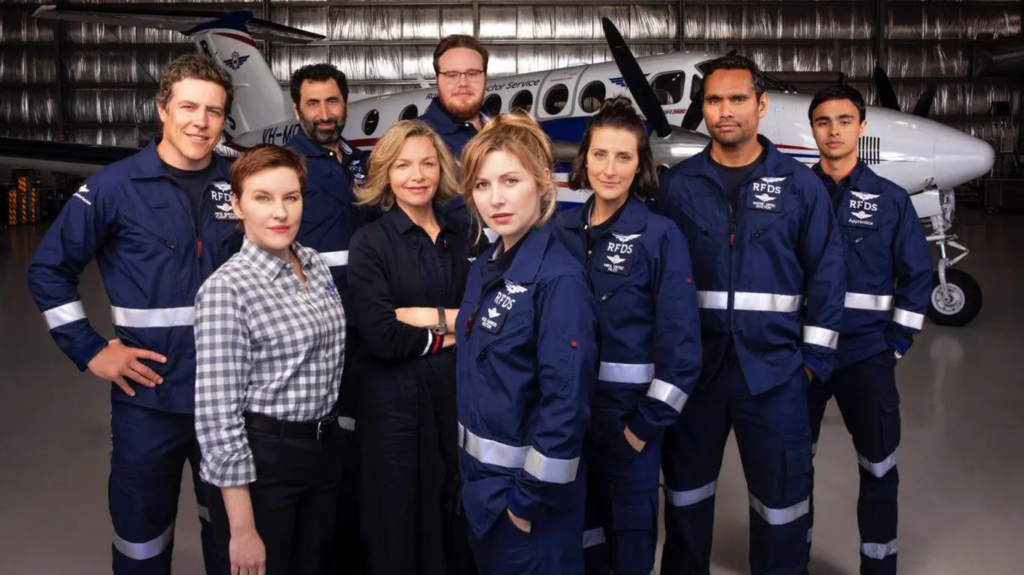 Cast of RFDS, courtesy Seven