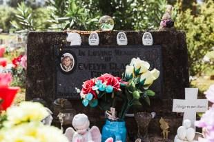 Gravestone of child
