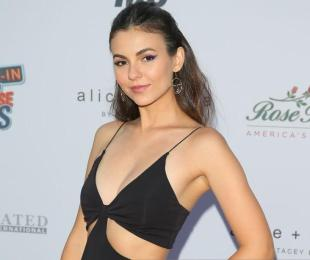 Victoria Justice, star of the upcoming Australian netflix romcom, attends an event in Pasadena California.