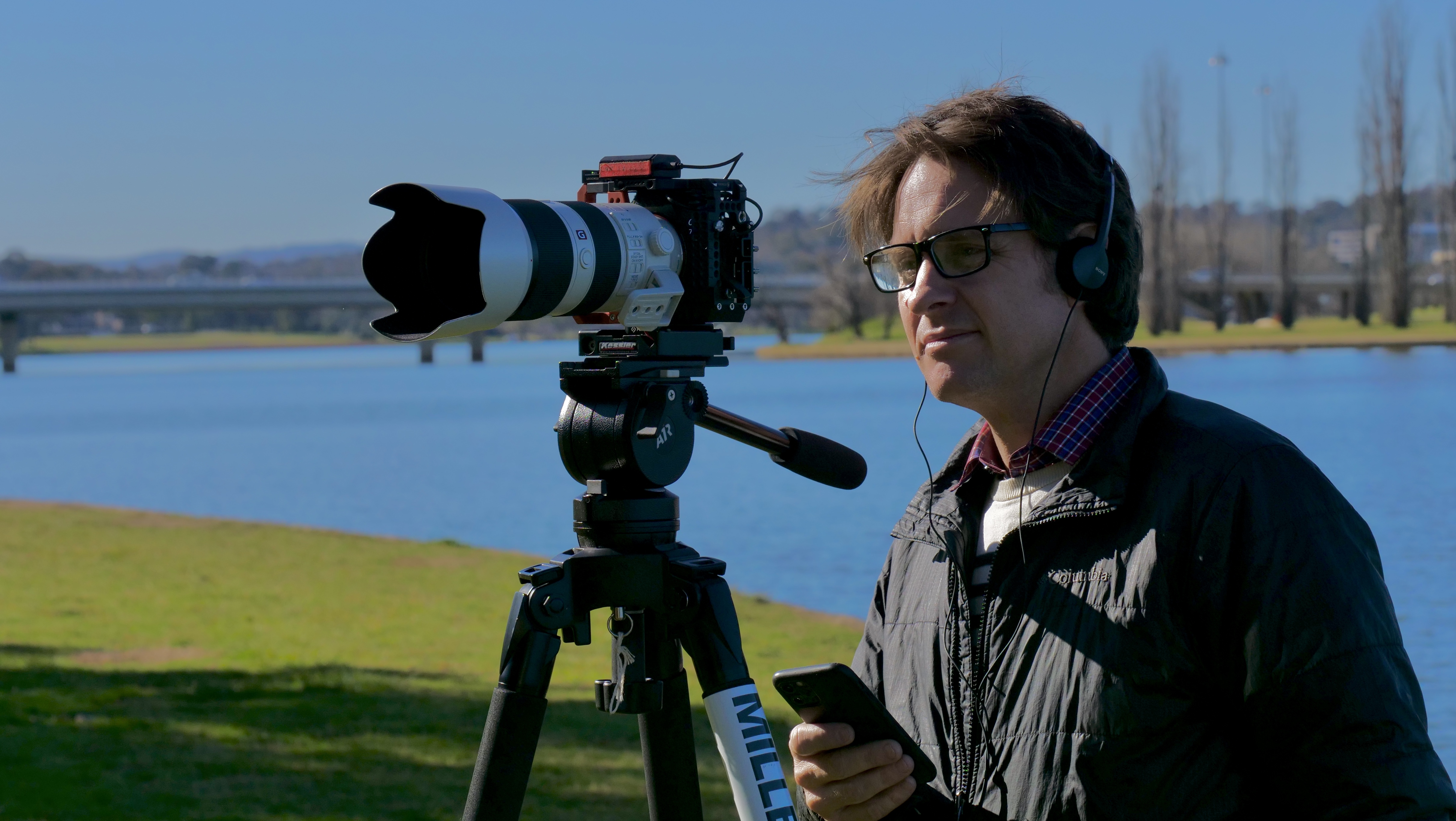 Craig Ruecassel is behind the camera in Big Deal