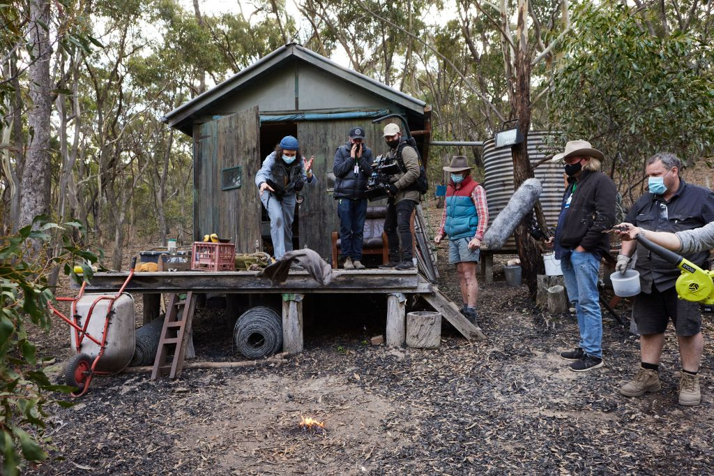 Behind the scenes on the ABC show Fires