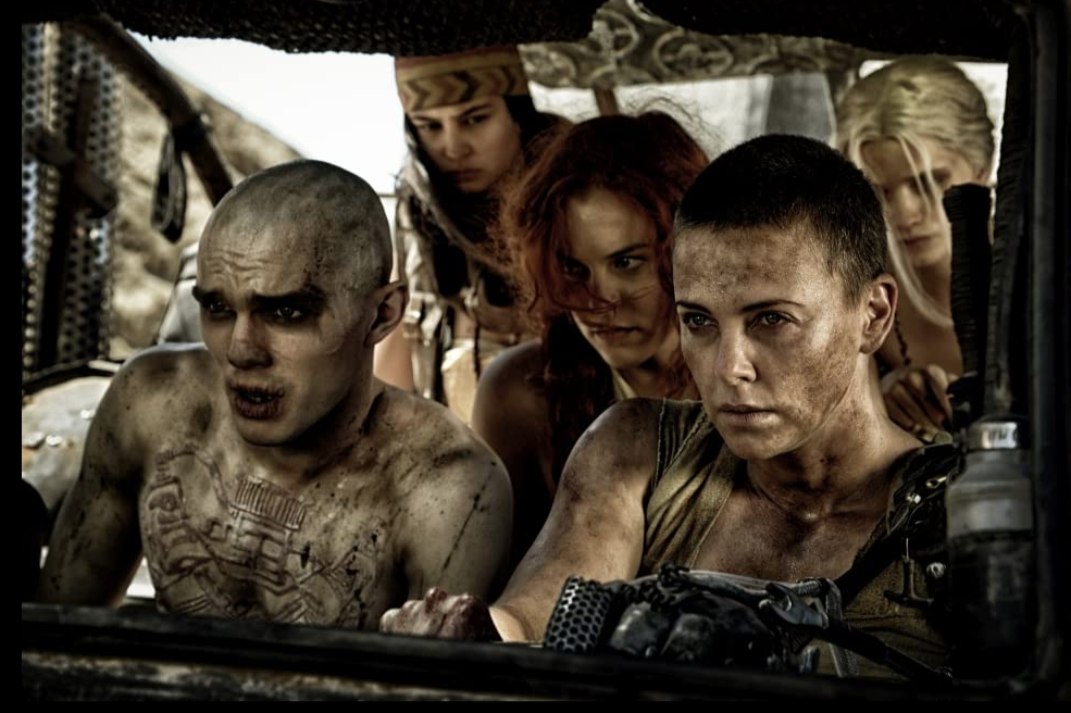 Mad Max gang in truck