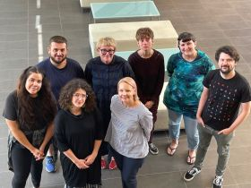 The first group of film lab teams