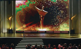 AACTA statuette on stage