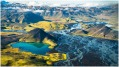 River and mountain vista